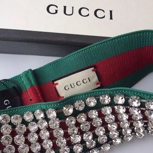 Gucci Accessories - Gucci rhinestone headband 212eb078ff0
